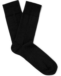 Sensitive Berlin Virgin Wool-blend Socks