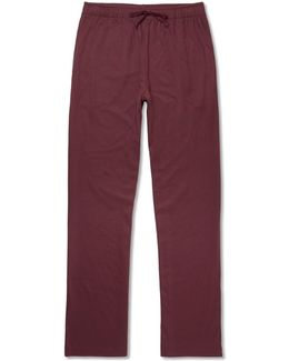 Cotton And Modal-blend Jersey Pyjama Trousers