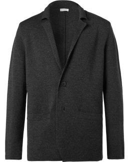 Charcoal Milano Merino Wool Blazer