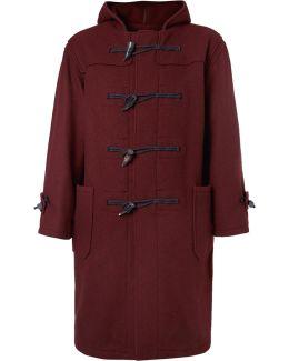 Wool-blend Felt Duffle Coat