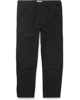 Judo Cotton-twill Trousers