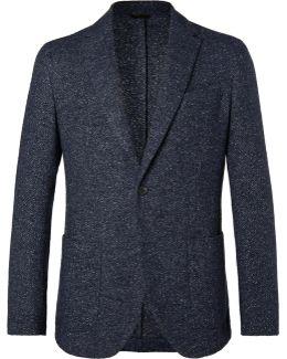 Navy Tito Wool-blend Blazer