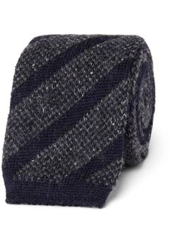 6cm Knitted Wool-blend Tie