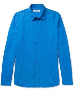 + Orlebar Brown Meden Slim-fit Slub Linen Shirt