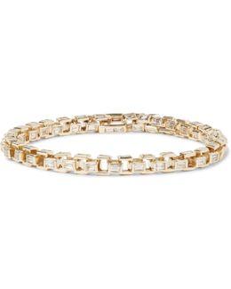 Gold Diamond Link Bracelet