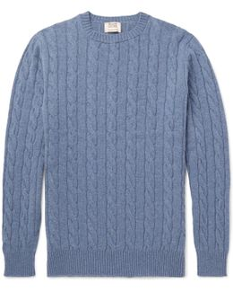 Orwell Cable-knit Cashmere Sweater