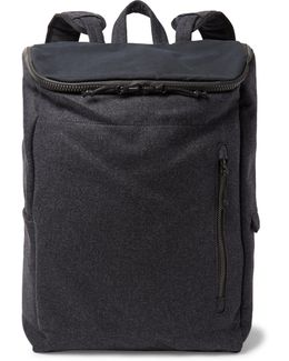 Ventile-panelled Wool Corkshell Backpack