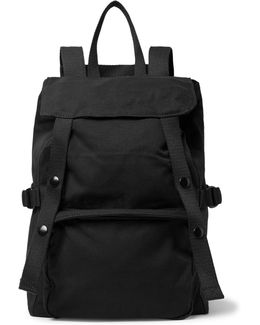 Eastpak Toploader Small Canvas Backpack