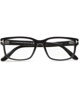 Square-frame Acetate Optical Glasses