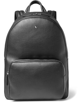 Meisterstück Full-grain Leather Backpack