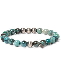 Sterling Silver Azurite Bracelet