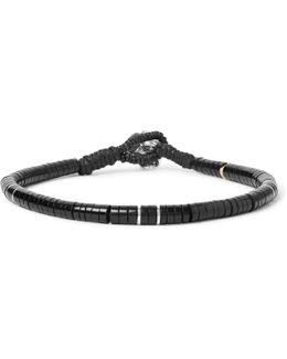 Sterling Silver Jet Bracelet