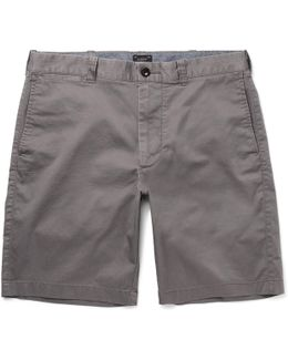 Stanton Stretch-cotton Twill Shorts