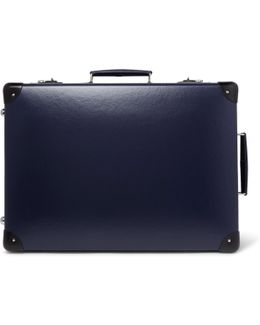 """20"""" Leather-trimmed Suitcase"""