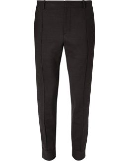 Slim-fit Stretch-wool Sweatpants