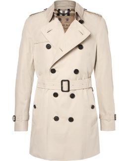 Kensington Mid-length Weatherproof Cotton-gabardine Trench Coat