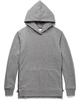 Villain Loopback Cotton-blend Jersey Hoodie