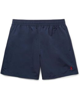Hawaiian Mid-length Swim Shorts