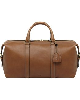 Clipper Small Leather Travel Bag