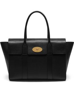 'new Bayswater' Grainy Leather Tote