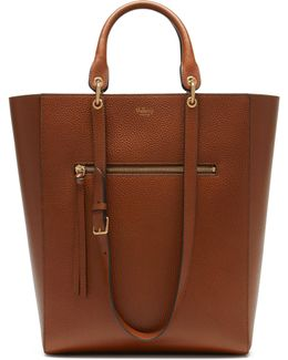 Maple Leather Tote