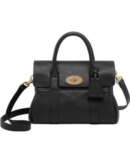 'small Bayswater' Leather Satchel