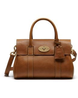 Small Bayswater Leather Satchel