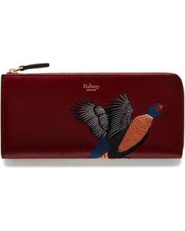 Pheasant Long Part Zip Wallet