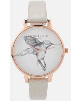 Women's Animal Motif Hummingbird Watch