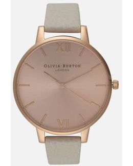 Women's Big Dial Watch