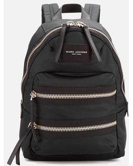 Nylon Biker Mini Backpack