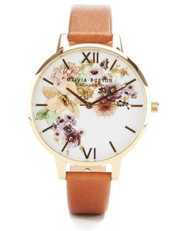 Flower Show Watercolour Watch