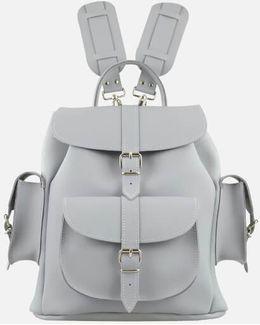 Medium Leather Rucksack