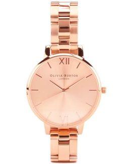 Big Dial Bracelet Watch