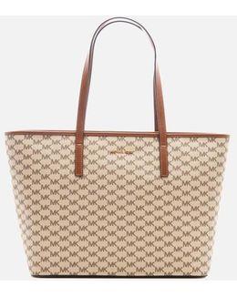 Emry Large Top Zip Tote Bag