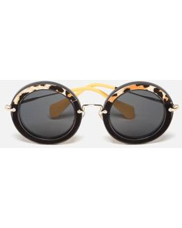Women's Round Oversized Sunglasses