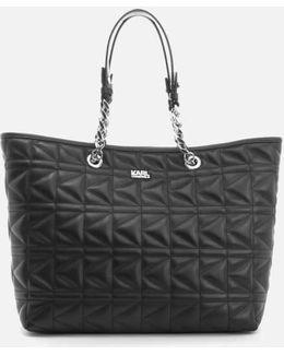 K/kuilted Shopper Bag