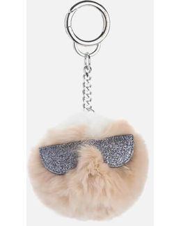 K/kocktail Fur Karl Keychain