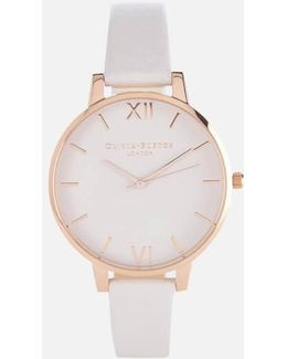 Women's Rose Gold Mesh Bracelet Watch