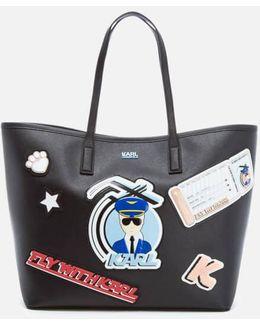 Women's K/jet Karl Shopper Bag