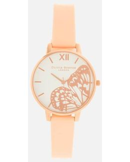Butterfly Big Dial Watch