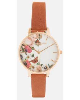 English Garden Big Dial Watch