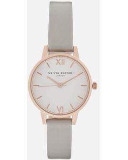 White Dial Midi Watch