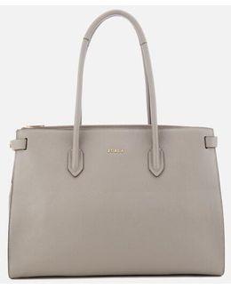 Pin Medium East West Tote Bag