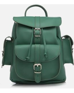 Women's Medium Leather Rucksack