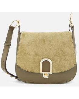 Delfina Large Saddle Bag