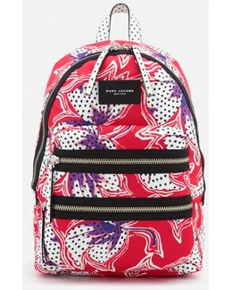 Nylon Printed Backpack