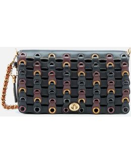 Linked Leather Dinky Bag