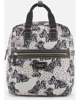 Folk Dog Medium Ziptop Backpack