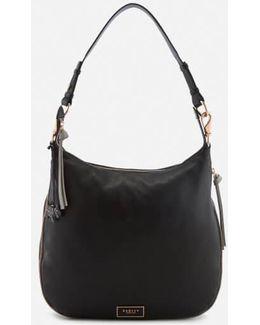 Pudding Lane Large Ziptop Hobo Bag